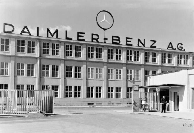 The history of Daimler-Benz AG