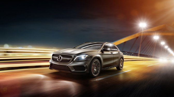 The Mercedes GLA