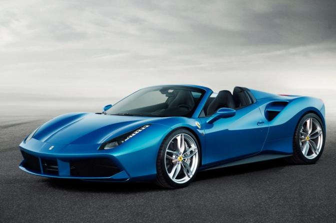 Lid lifted on Ferrari 488 Spider at Frankfurt show | Auto Express