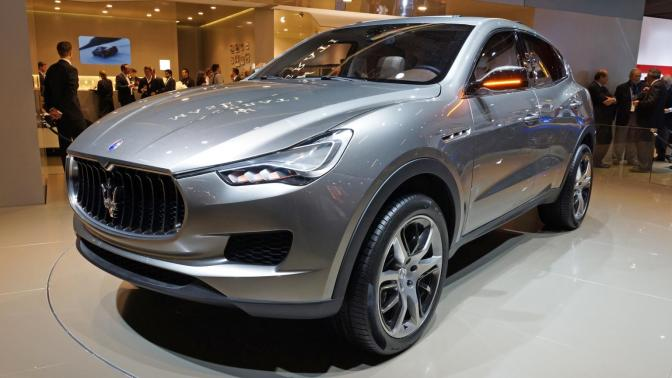 At last! Maserati Levante SUV Confirmed for Early 2016